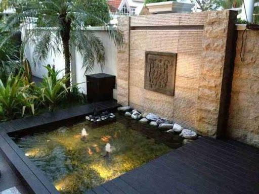 魚池のデザインアイデア