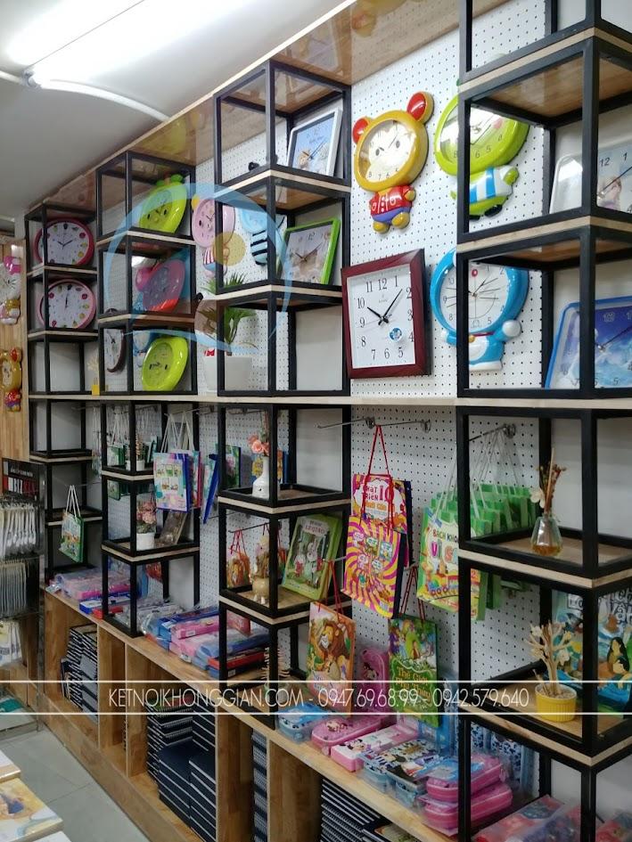 thiết kế thi công nội thất nhà sách Trí Đức 13