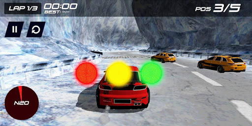 3D Real Car Racer on Hill