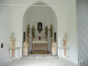 Photo: intérieur de la chapelle restaurée