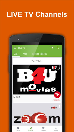 Movies n Music :Live TV Videos 2.0 screenshots 2
