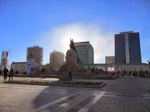 Photo: Other side of Sukhbatar square
