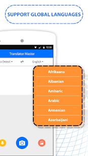 Translator Master - Voice, Text & File Scanner - náhled