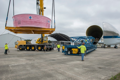 Orion Stage Adapter move to Redstone Airfield