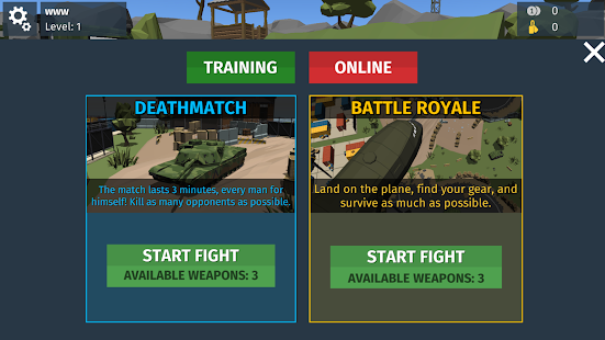 Unbekannter Schlachtfeld-Überlebenskrieg