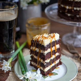 Guinness Black Magic Cake.