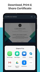 Certificate Maker Generator v4.9.1 Pro APK 5