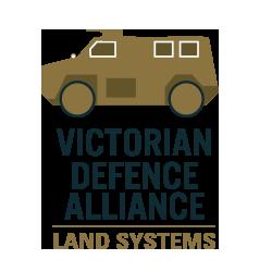 VDA Victorian Defence Alliance Land Systems Logo