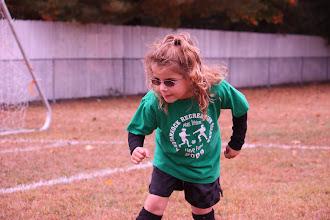 Photo: Week 5, Oct. 10--wonderwoman kick!