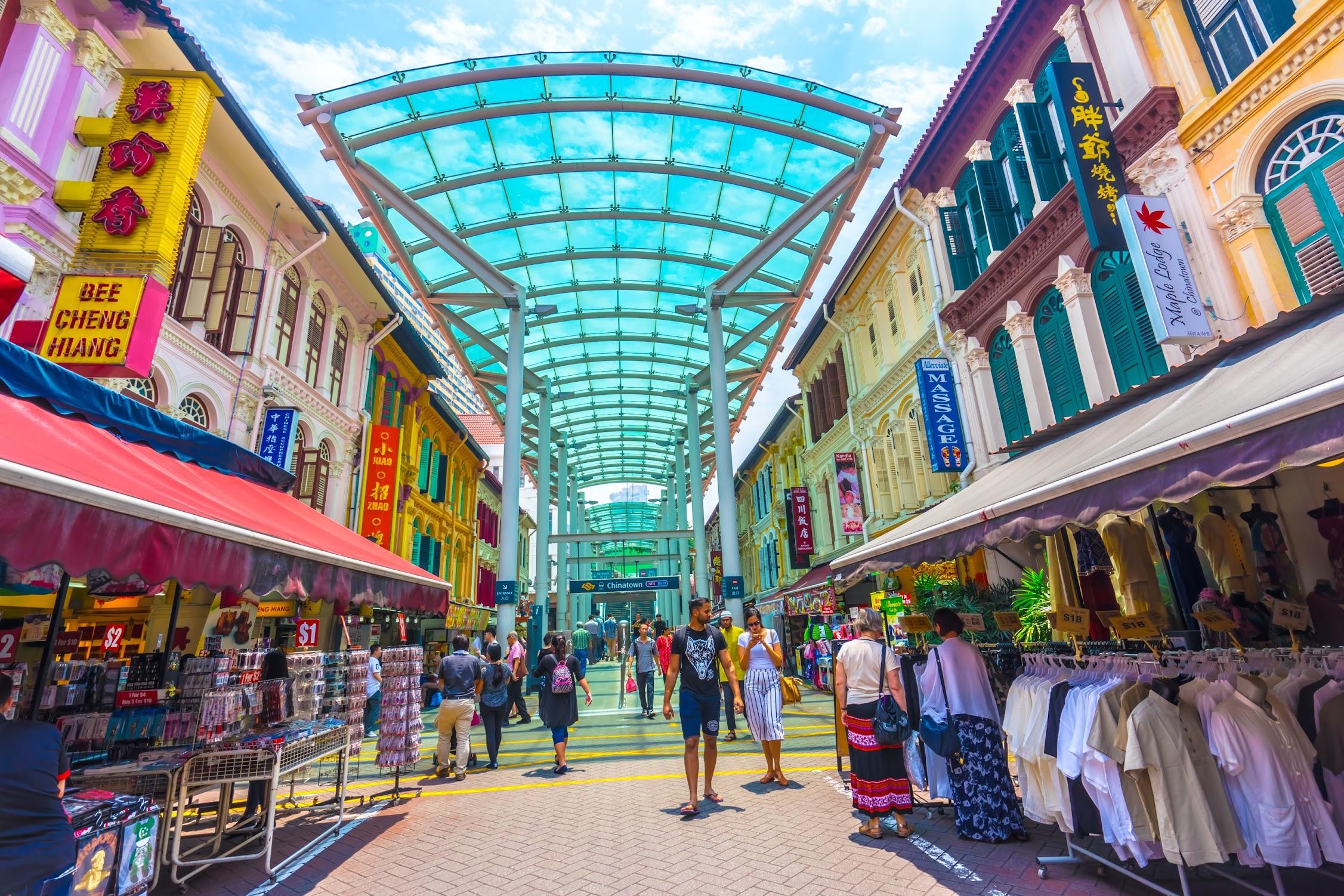 シンガポール チャイナタウン1