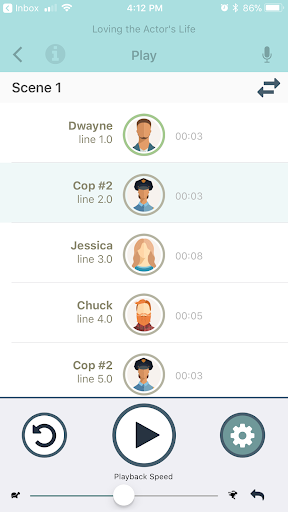 Screenshot for The Actors Lines in United States Play Store