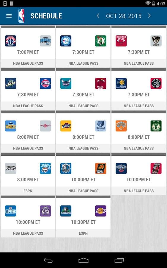 NBA 2015-16- screenshot