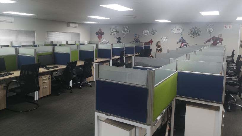 New call centre.