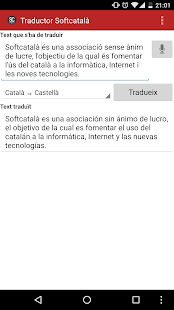 Traductor de Softcatalà- screenshot thumbnail