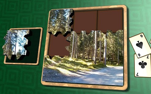 Jigsaw Solitaire - Alpine- screenshot thumbnail