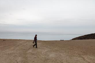 Photo: Dead Sea overlook along the road
