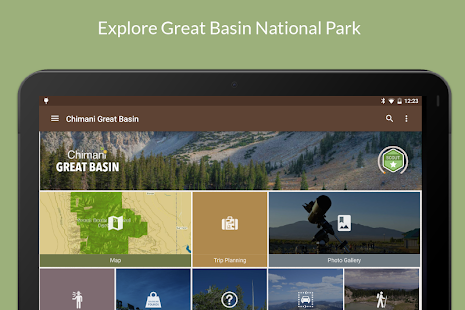 Great Basin NP by Chimani- screenshot thumbnail