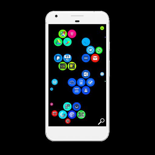 BubbleLauncher free  screenshots 1