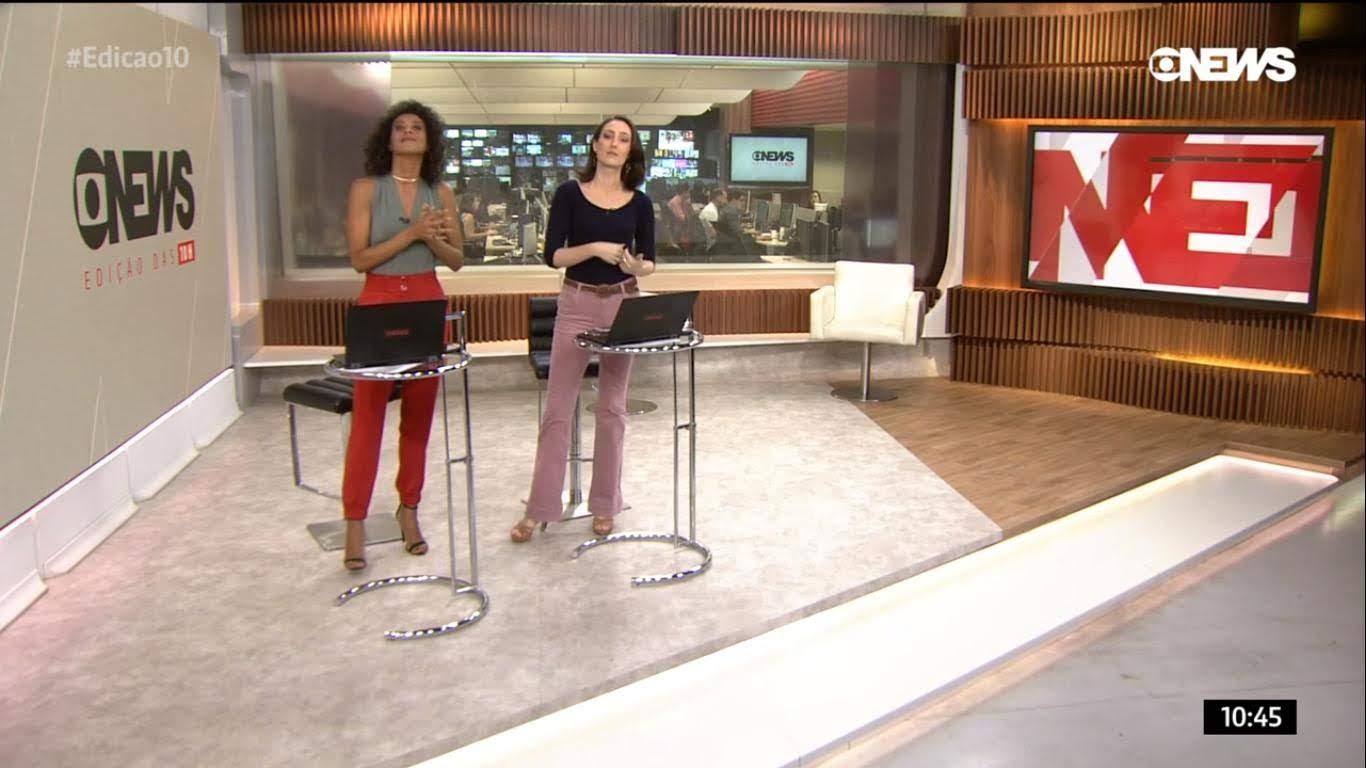GloboNews ganha novidades no cenário do Rio de Janeiro