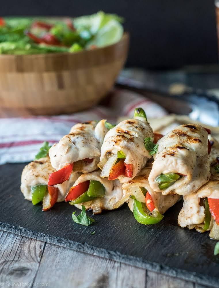 10 Best Healthy Chicken Roll Ups Recipes