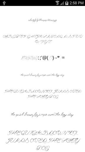 Fonts for FlipFont Love Fonts 4.0.4 screenshots 5