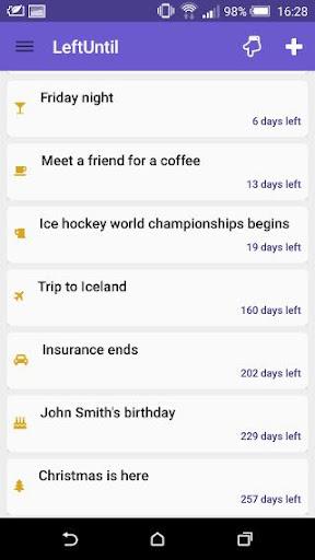 【免費生產應用App】LeftUntil-APP點子