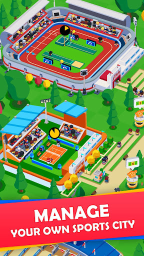 Idle Sports City Tycoon - Create a Sports Empire 0.8.2 screenshots 1
