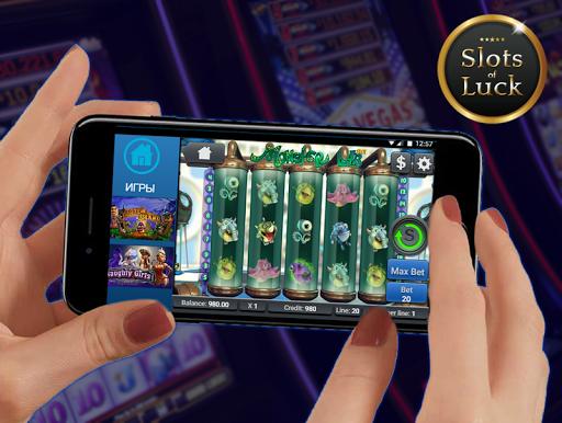 Игровые автоматы Slots of Luck screenshot 4
