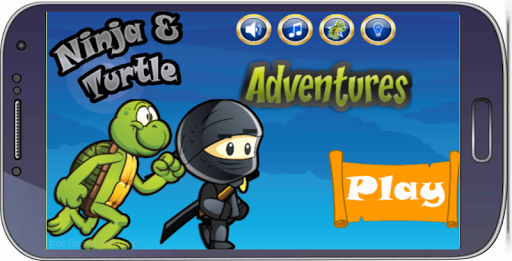 Hop Ninja And Turtle Adventure
