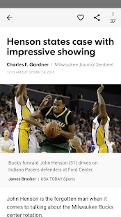 Journal Sentinel Bucks XTRA - náhled