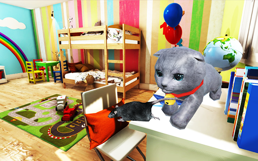 Kitten Cat Simulator:Cute cat SMASH Kids Room 1.0 screenshots 1