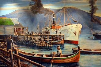 Photo: The Finnmarken in its heyday