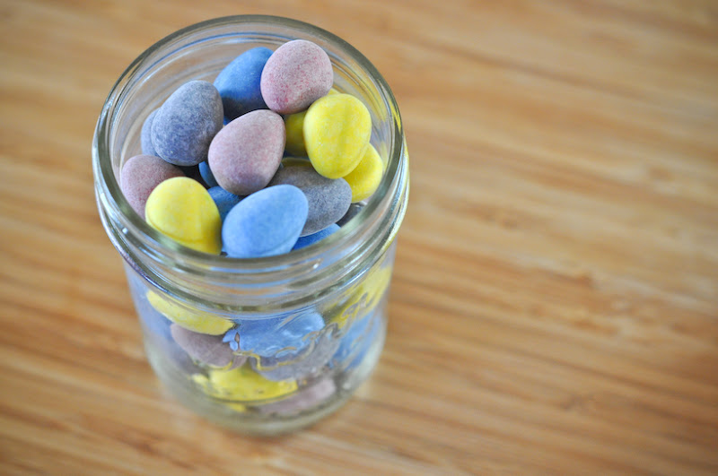 Photo: Mini eggs.