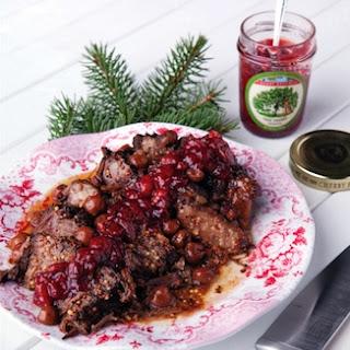 Crockpot Cherry-Glazed Beef Pot Roast Recipe