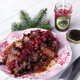 Crockpot Cherry-Glazed Beef Pot Roast.