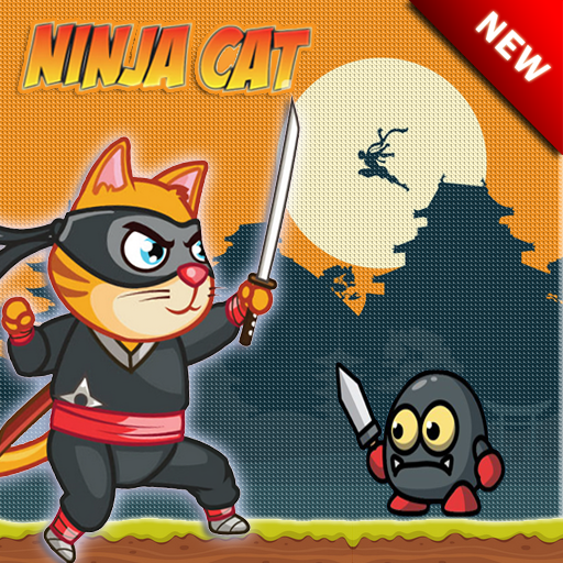 Free Ninja Cat Adventure Android APK Download Free By Kirsty Goodinson