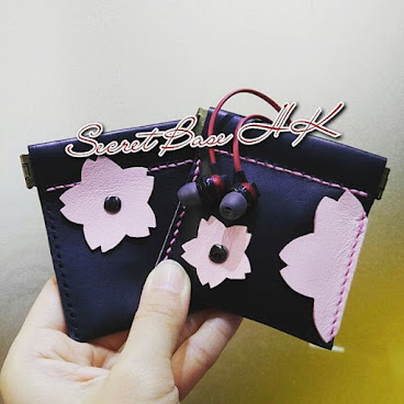 《櫻花系列 耳筒收納包/散銀包》