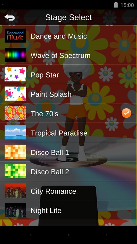 Dance and Music - screenshot