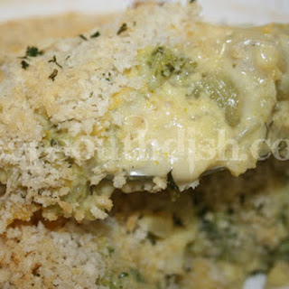 Broccoli and Cheese Casserole.