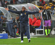 Benni McCarthy coach of Cape Town City during 2018 MTN8 Final match between Supersport United and Cape Town City on the 29 September 2018 at Moses Mabhida Stadium in Durban.