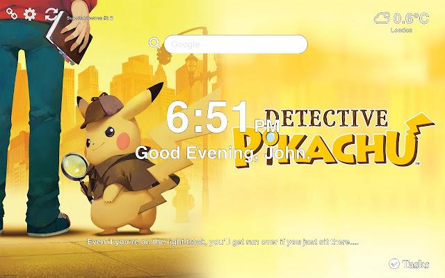 pokemon detective pikachu wallpaper hd