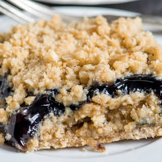 Blueberry Oatmeal Bars.