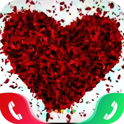 Rose Love Caller Screen