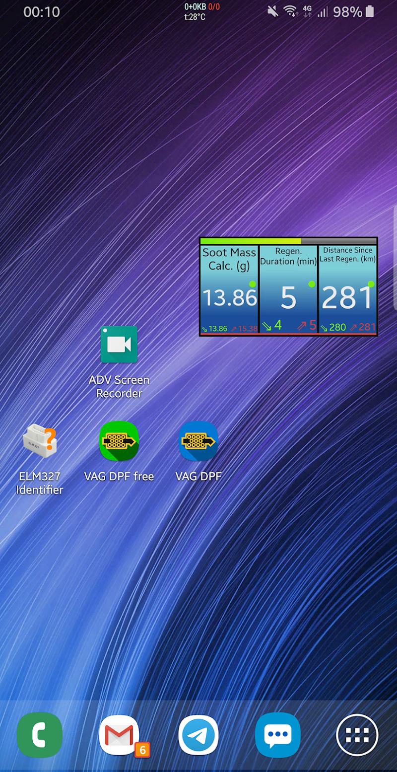 VAG DPF Screenshot 2
