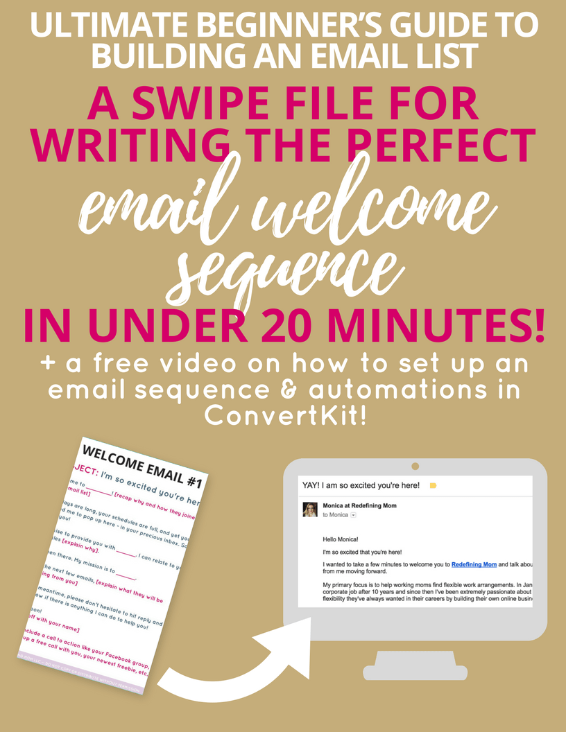 convertkit masterclass swipe file for writing your first email welcome sequence