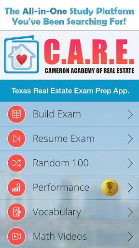 CARE: TX Real Estate Exam Prep