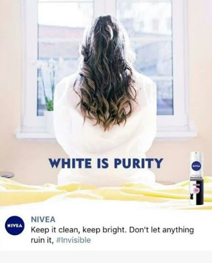 Nivea pulls 'white is purity' ad over racism concerns