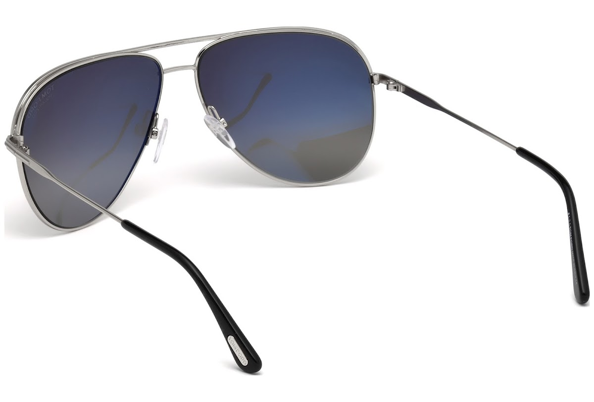 7b12a5434f1 Polarized Sunglasses Tom Ford Erin FT0466 C61 17D (matte palladium   smoke  polarized)