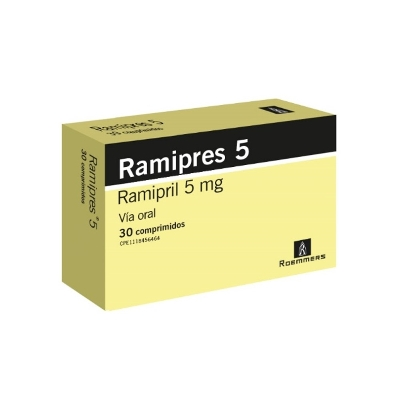 Ramipril Ramipres 5 mg x 30 Comprimidos