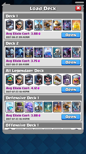 Counter Deck Generator for Clash Royale 2.0.0 PC u7528 8